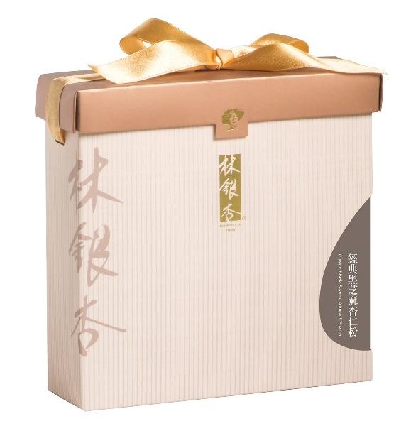 【林銀杏】經典黑芝麻杏仁粉(無甜) 600g 含運價1190元