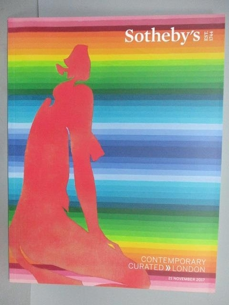 【書寶二手書T3/收藏_EV1】Sorheby s_Contemporary Curated-London_2017/1