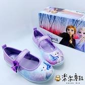 【樂樂童鞋】台灣製冰雪奇緣2休閒鞋-紫色 F060-1 - 女童鞋 休閒鞋 大童鞋 公主鞋 娃娃鞋 室內鞋