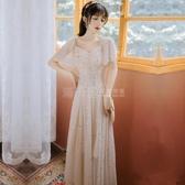 禮服不支持退換 名媛氣質顯瘦洋裝2020新款禮服裙子平時可穿聚會女神范伴娘裙仙 滿天星