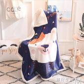 雲貂絨小毛毯兒童被子柔軟空調毯珊瑚絨毯子秋冬寶寶午睡幼兒園毯  遇見生活