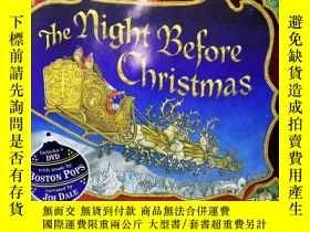 二手書博民逛書店The罕見Night Before Christmas [With DVD] [精裝版]Y27964 Jan