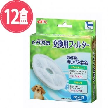 【GEX 】日本犬用新版替換芯-2入X 12盒