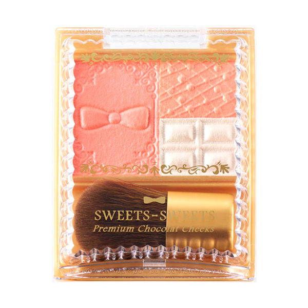 SWEETS SWEETS 巧克力莊園甜頰餅 04-香橙蛋糕 (腮紅)