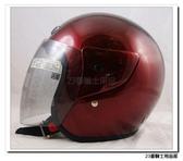 【ASIA 702 基本款 素色安全帽 酒紅】蓋耳基本款、3/4罩、半罩