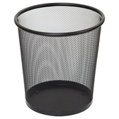 網狀垃圾桶 8L S BK NITORI宜得利家居