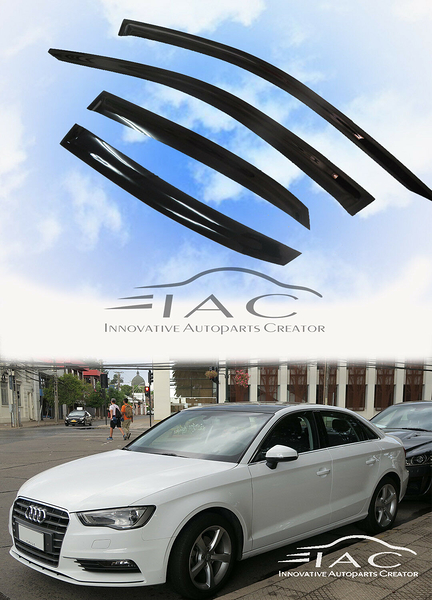Audi 奧迪 A3 4D Sedan 13-20 台製晴雨窗