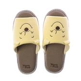 HOLA 迪士尼系列維尼刺繡拖鞋-M