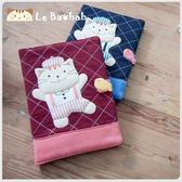 筆記本套~雅瑪小舖日系貓咪包 啵啵貓廚師造型萬用套/媽媽手冊套/拼布包包
