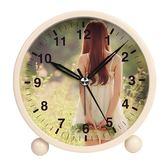 【優選】金屬鬧鐘學生床頭鬧鐘臥室小鐘表