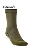 Bridgedale 英國 氣象家 全天候防水中厚襪-中 卡其/橄綠 710 087 登山襪 健行襪 防水襪 [易遨遊]