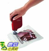 (整新福利品) 真空封口機 FoodSaver Vacuum Sealer FSFRSH0053 FreshSaver Handheld Sealing System, Red