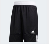 Adidas 3G SPEED REVERSIBLE SHORTS 男款運動短褲 黑白-NO.DX6386