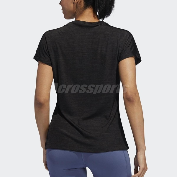 adidas 短袖T恤 Badge of Sport Tee 黑 白 女款 短T 【ACS】 EB4498