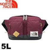 【The North Face 美國 5L 腰包《酒紅》】2UCY/運動腰包/隨身包/防潑水★滿額送