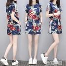 套裝【多款可選】夏季新款短袖短褲套裝女寬鬆大碼休閒兩件套女裝 快速出貨