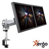 [富廉網] Xergo EM43116  雙延伸臂雙螢幕夾桌支撐架(終身保固)(和順電通)