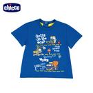 chicco-工程車-印圖短袖上衣