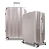 E&J【008020-01】MR.BOX威爾 28吋PC+ABS鏡面拉鍊行李箱 旅行箱-銀色