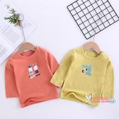 長袖 兒童長袖上衣棉0嬰兒衣服空調1小女童男t恤2薄款3寶寶打底衫4歲 9色
