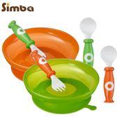 小獅王辛巴-吸盤學習餐具組-顏色隨機出貨