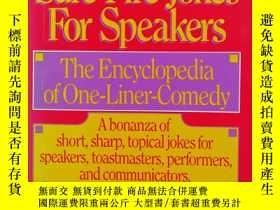 二手書博民逛書店Sure罕見Fire Jokes for speakersY22