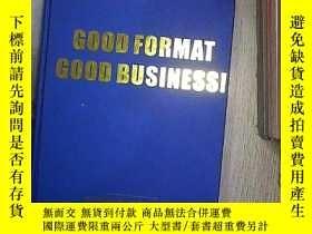 二手書博民逛書店GOOD罕見FORMAT GOOD BUSINESS 格式好生意好Y261116