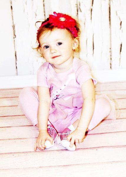 美國 Baby Emporio 造型棉襪 粉紅布鞋 嬰兒襪 襪子 0-9M 3件組 (禮盒)