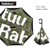 反向傘 雨傘反向傘折疊男女雙層德國免持式自動雙人汽車用長柄傘晴雨 伊芙莎