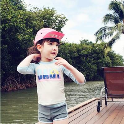 618大促兒童潛水服中大童水母衣男女童浮潛速干泳衣