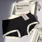 貼身安心 4條裝莫代爾內褲女士中腰無痕透氣白邊運動木代爾竹纖維三角褲 好樂匯