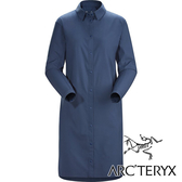 【Arc'teryx 始祖鳥】女 CONTENTA 抗UV長版長袖襯衫『氣層藍』L07340100 戶外.露營.旅遊.襯衫.休閒