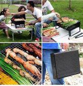 戶外燒烤箱 不鏽鋼大號燒烤爐家用 野外bbq木炭烤肉架子