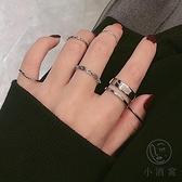 (7件套)食指戒指女時尚蹦迪個性飾品【小酒窝服饰】