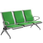 不銹鋼排椅三人位沙發連排椅候診椅車站等候椅公共座椅連椅機場椅 童趣潮品
