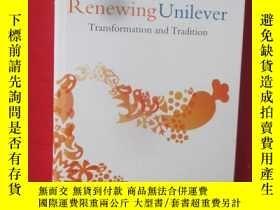 二手書博民逛書店Renewing罕見Unilever: Transformati