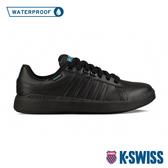K-SWISS Pershing Court Light WP防水系列 時尚運動鞋-男-黑