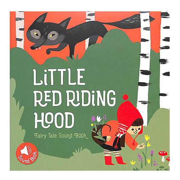 Little Red Riding Hood Fairy Tale Sound Book 小紅帽有聲書