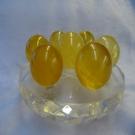 【Ruby工作坊】NO.155Y天然黃冰洲球玻璃七星陣 (加持祈福)