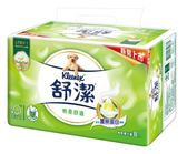 舒潔棉柔舒適抽取衛生紙(蠶絲蛋白)100抽8包