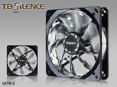 ENERMAX 安耐美 靜蝠 T.B.SILENCE - 定速系列 - UCTB12散熱風扇 【迪特軍】
