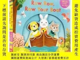 二手書博民逛書店英文原版罕見Sing Along With Me Row Row