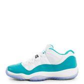 Nike Air Jordan 11 Retro Low GG [580521-143] 童鞋 喬丹 經典 潮流 休閒 白 綠