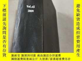 二手書博民逛書店fertiliser罕見news Vol.45 2000 化肥新