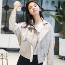 2020新款皮衣外套女秋冬季百搭女裝潮BF風春秋韓版寬鬆裝短款夾克YQ400