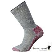 Smartwool 美國 女 超級避震墊型登山中長襪『灰褐色/淺粉色』SW001054
