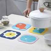 【超取399免運】卡通PVC隔熱餐墊 (大) 桌墊 防燙鍋墊 創意家用可愛杯墊
