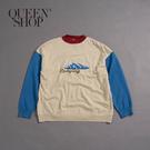 Queen Shop【01070923】親子系列 山脈緹花針織上衣 1/2*現+預*