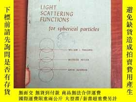 二手書博民逛書店tables罕見of light scattering functions for spherical parti