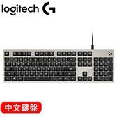 Logitech 羅技 G413 背光遊戲機械鍵盤 白 中文